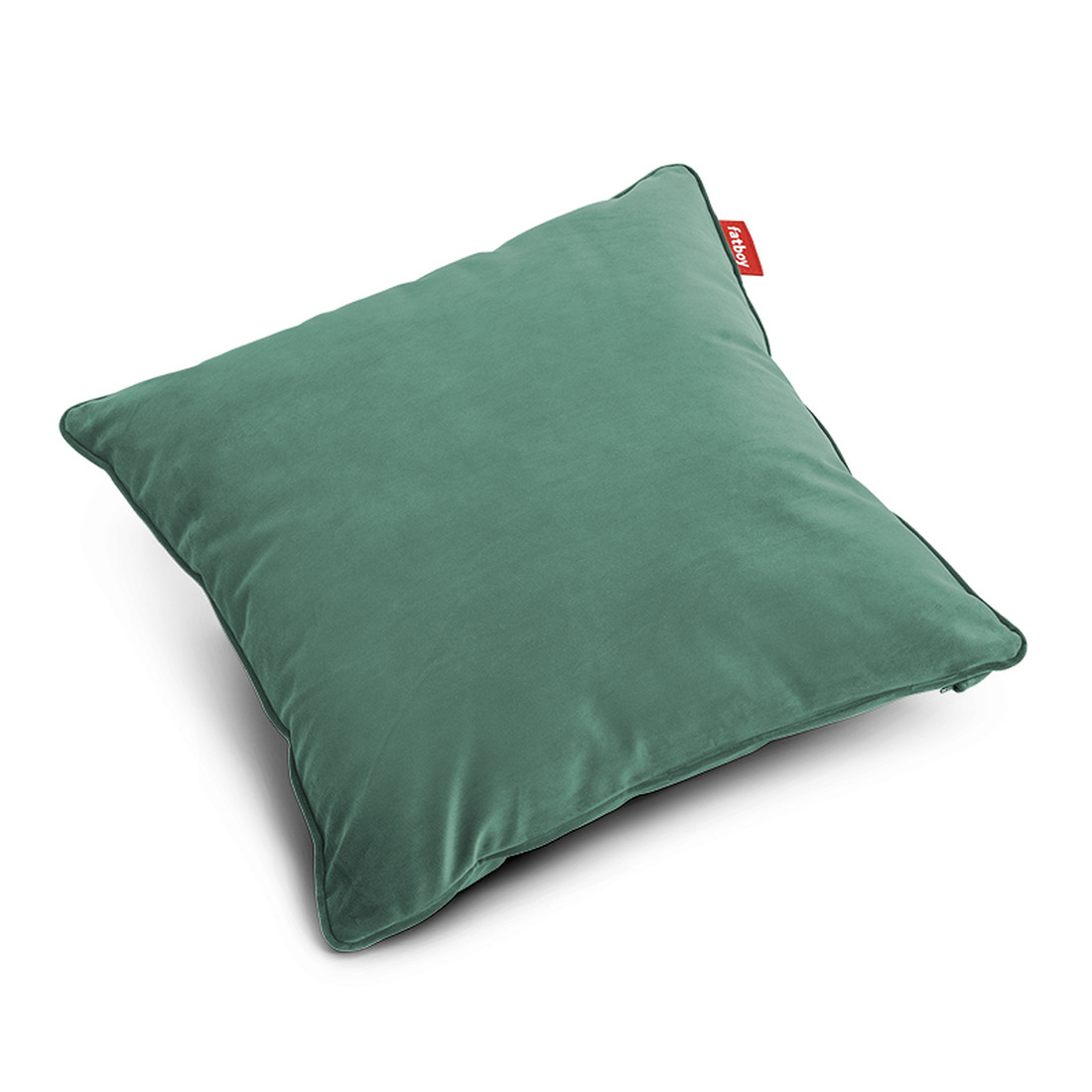 Pillow Square Velvet, Recycled Sage - 50 x 50 cm Kissen by fatboy