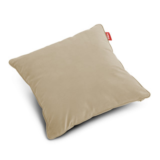 Pillow Square Velvet, Recycled Camel - 50 x 50 cm Kissen...