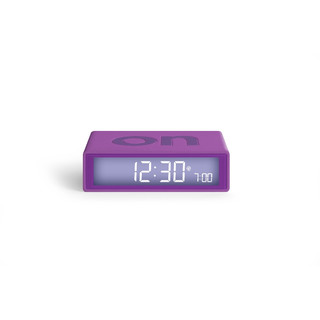 FLIP+ LCD Funk-Wecker - Purple by LEXON Design
