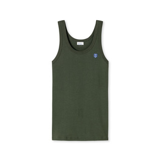 Tank Top - Friedrich - oliv by Schiesser Revival
