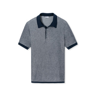 Poloshirt 1/2 - Lutz - navy by Schiesser Revival