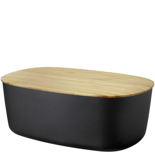 BOX-IT Brotkasten, schwarz RIG-TIG by Stelton