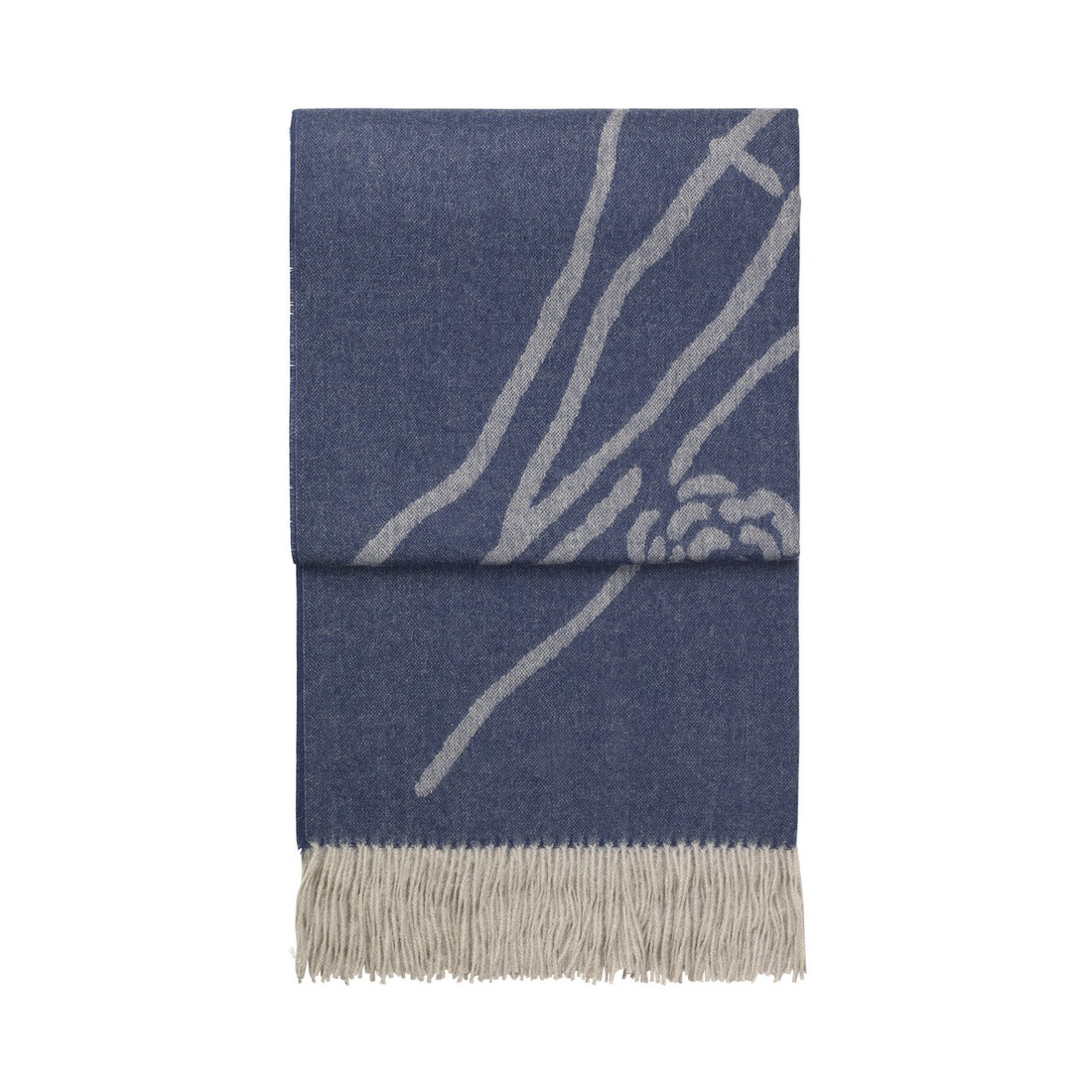 Decke Wildflower (dark blue/beige) by ELVANG DENMARK