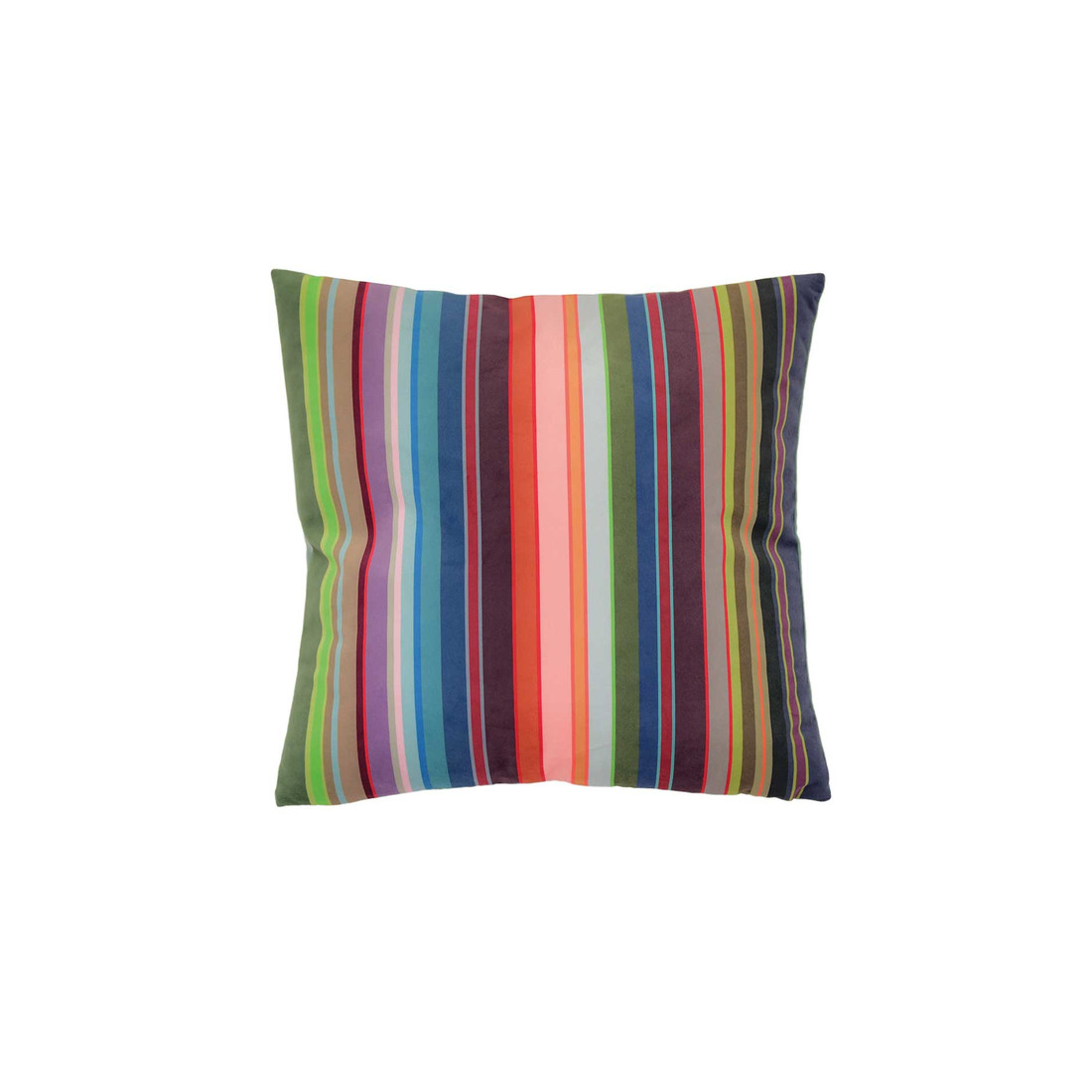 Samtkissen Stripes small 45 x 45 cm by REMEMBER