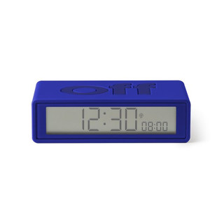 FLIP LCD Funk-Wecker - Blue by LEXON Design LR150.B9
