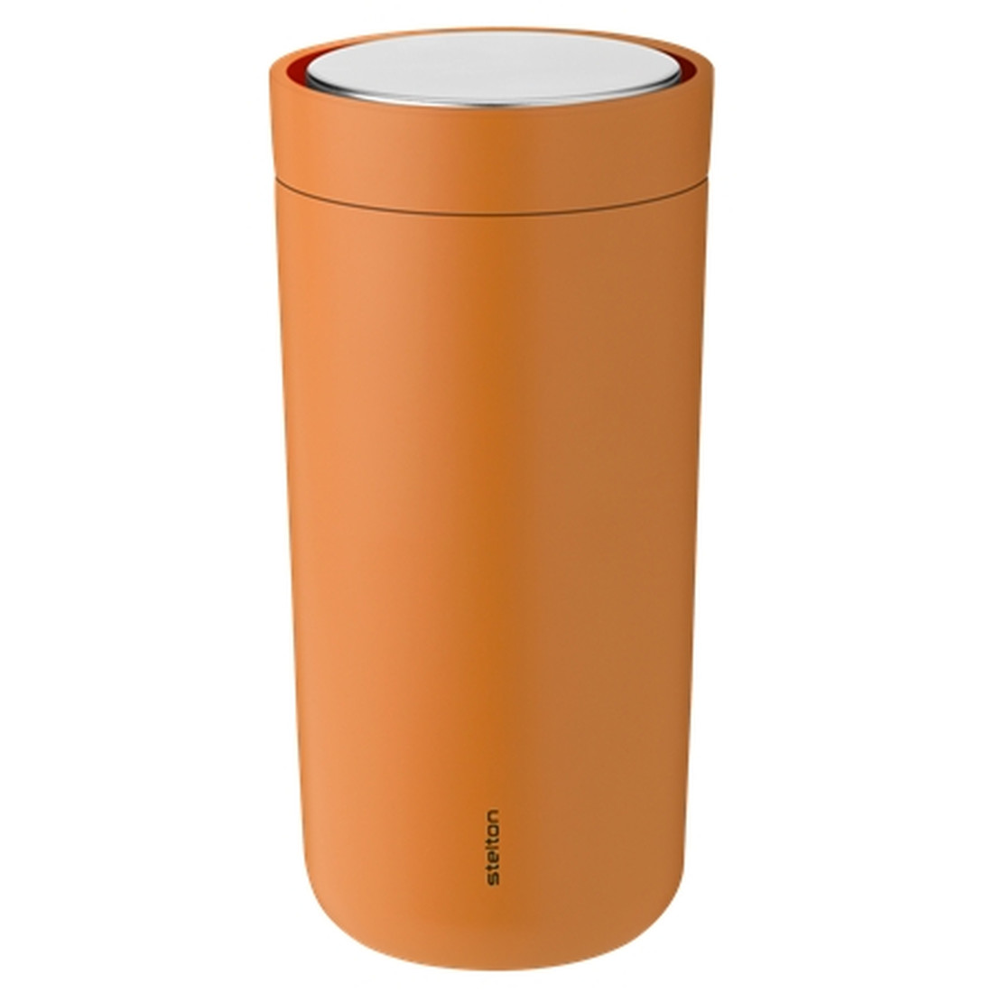 To Go Click Thermobecher Edelstahl 0,4l - soft orqange by stelton