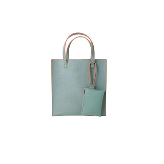 Shopper mit Pouch - Powder by REMEMBER