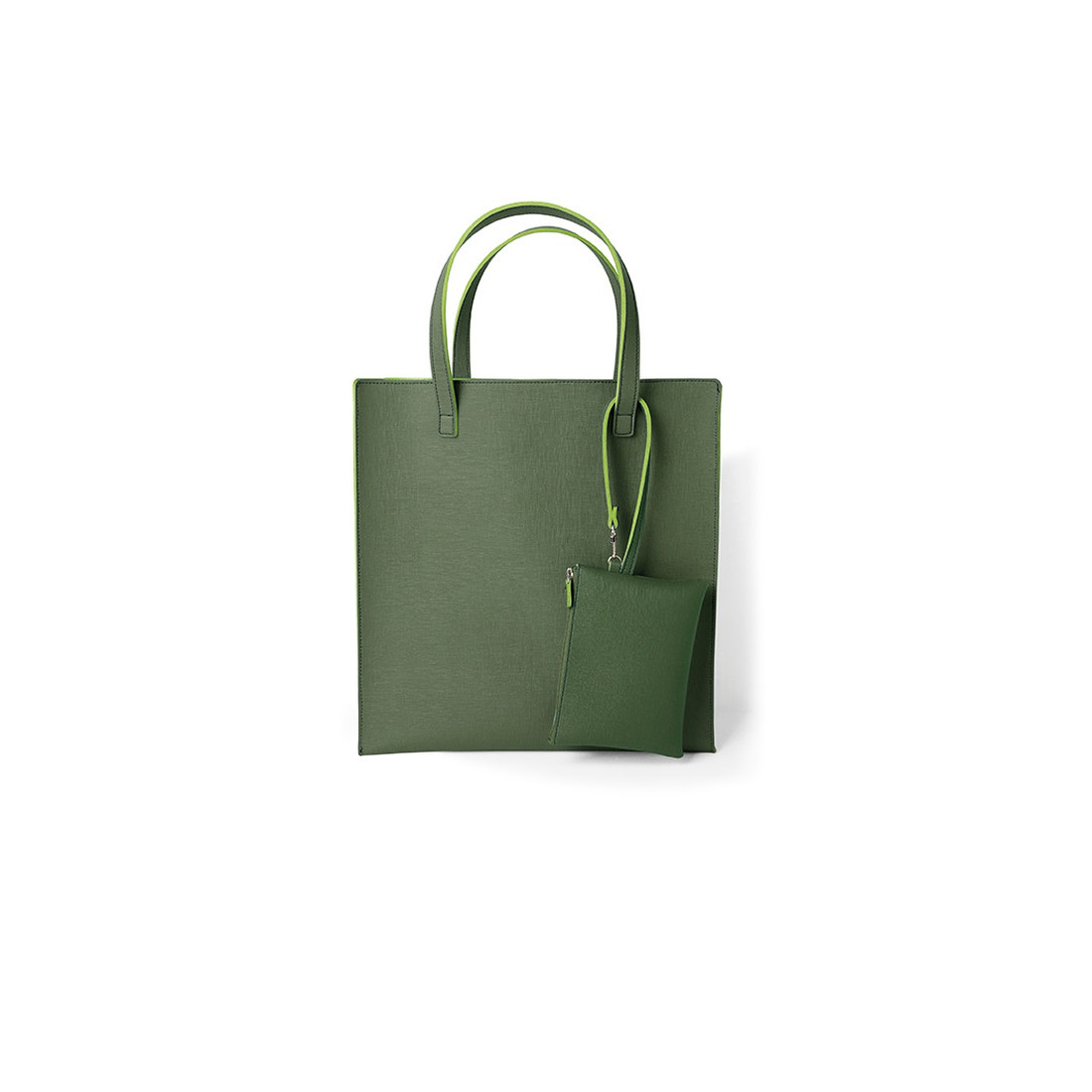 Shopper mit Pouch - Forrest / Moos by REMEMBER