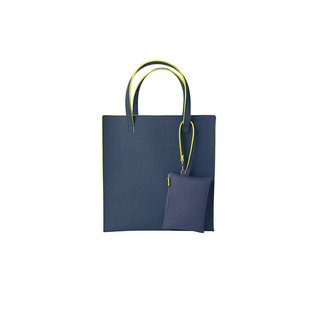 Shopper mit Pouch - Denim by REMEMBER
