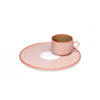 Steingut-Set (Tasse + Teller) - Greta by REMEMBER