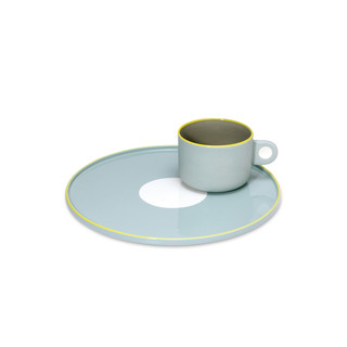 Steingut-Set (Tasse + Teller) - Gustaf by REMEMBER