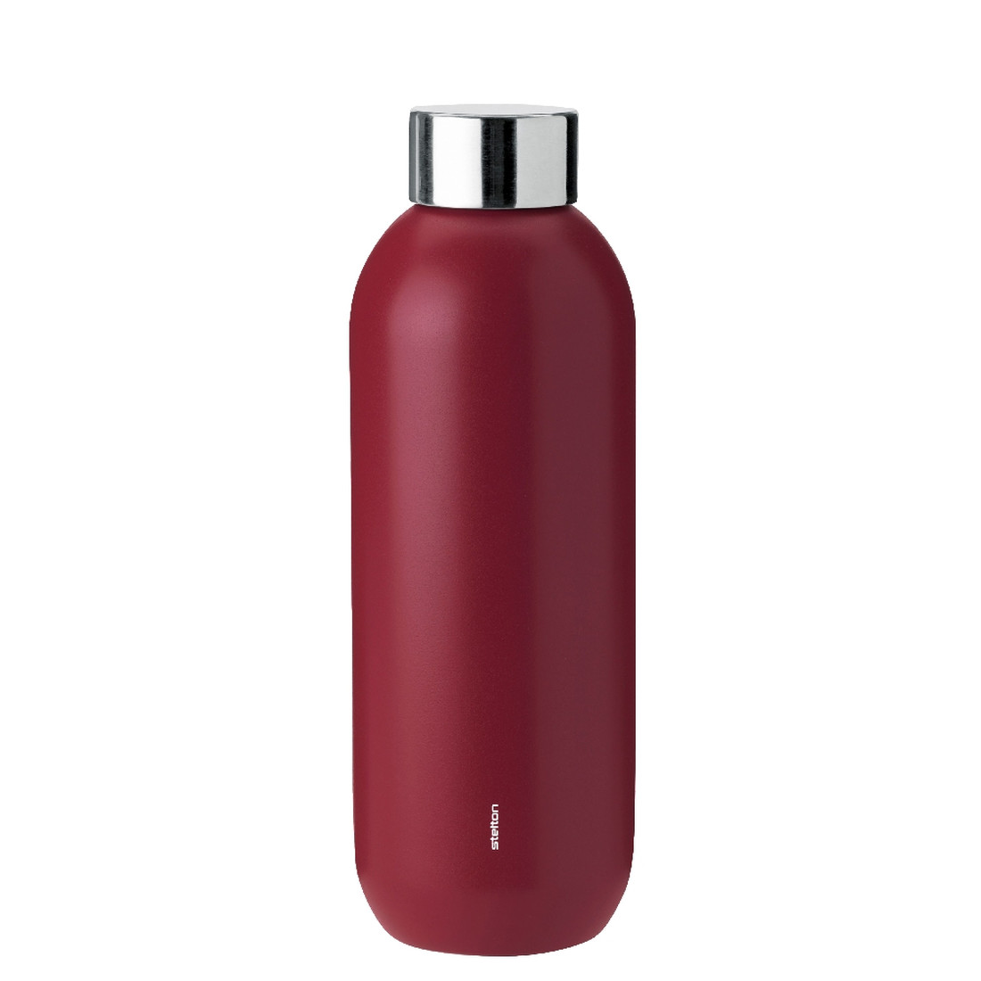 Keep Cool Thermosflasche 0.6 l - warm maroon by stelton