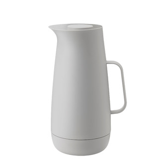 Foster Isolierkanne 1 l - light grey by stelton